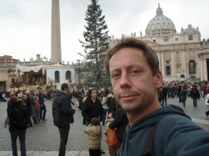 Stillthinking while loitering in the Vatican