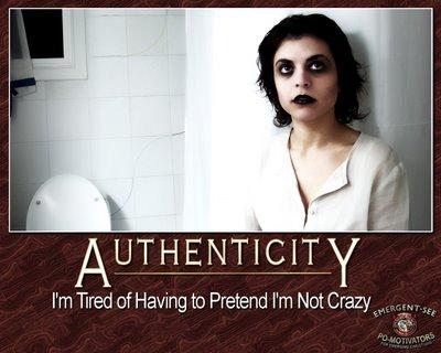 authenticity, it's such a nebulous concept