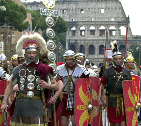 Italian Gladiators - or are they?