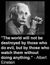 Edmund Burke evil triumphs if good men do nothing